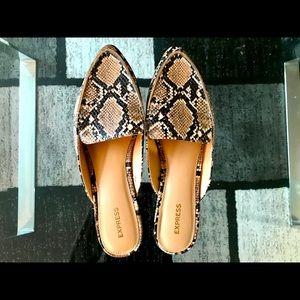 Express Snakeskin Shoes
